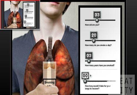 AR Lungs, realidad aumentada para ver los efectos del tabaco | VIM | Scoop.it