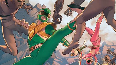Anunciado un crossover entre Power Rangers y La Liga de la Justicia | Noticias Anime [es] | Scoop.it