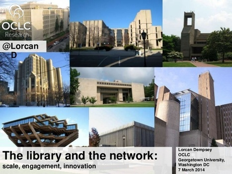 The library and the network: scale, engagement, innovation | Libraries Filling Whitespaces | Scoop.it