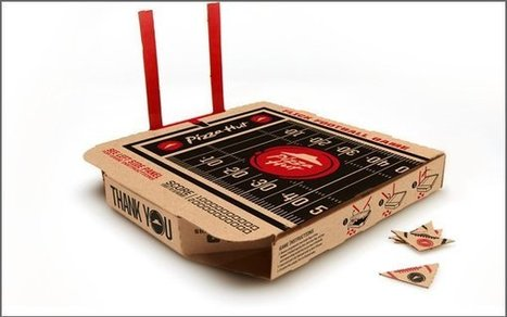 Pizza Hut Boxes Feature Playable Flick Football Field | Public Relations & Social Media Insight | Scoop.it