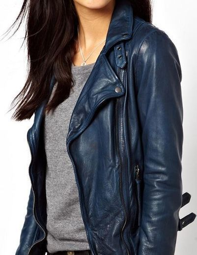 Reval Lambs Leather Jacket | The Hunger Games Leather Jacket | Scoop.it