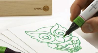 Living ink: inkt uit algen biedt bijzondere effecten   BlokBoek e-zine   Scoop.it