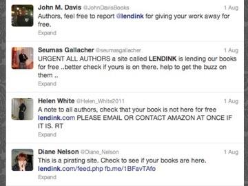 Furieux et paranos, des auteurs font fermer un site légal de prêts de livres   Antisocial   Scoop.it
