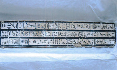 An ancient Egyptian piece of a sarcophagus return to Egypt - Ahram Online | Ancient crimes and mysteries | Scoop.it