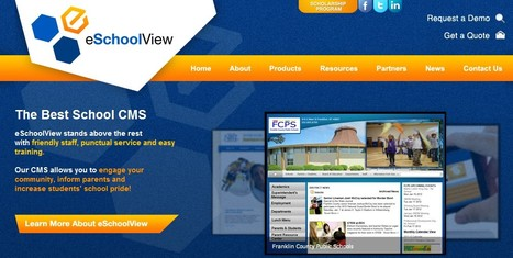 eSchool View: Content Management System (CMS) for K-12 School | 21st Century Tools for Teaching-People and Learners | Scoop.it