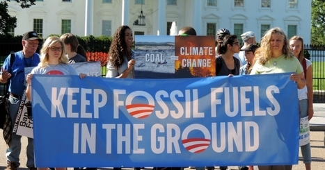 Obama's Final Climate Test: Keep It in the Ground   Consciousness Shift for Healing our World   Scoop.it