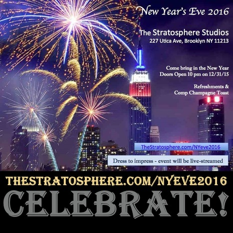 2015 Rocked! So here's to a prosperous informative, authentic New Year! #Newyearseve2016 | @BadasseBs | Scoop.it