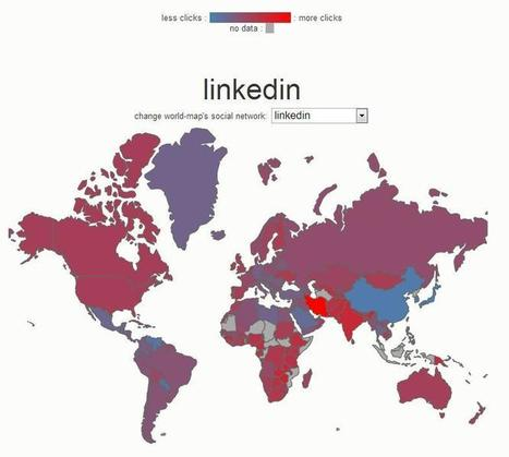 9 fascinating facts about how the world uses social networks | Enterprise Social Media | Scoop.it