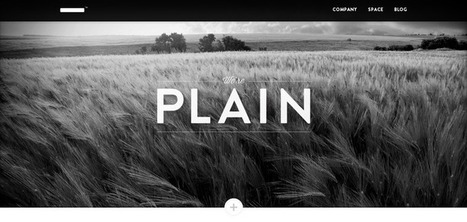 plainmade.com | Web Design Inspiration .com | le webdesign | Scoop.it