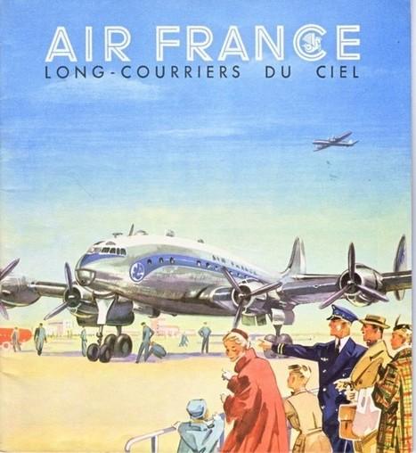 Anciennes affiches Air France   Photographies numériques   Scoop.it