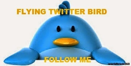 How to add flying twitter bird to your blog | Worldwidenetworkings and worldtrick360 | Scoop.it