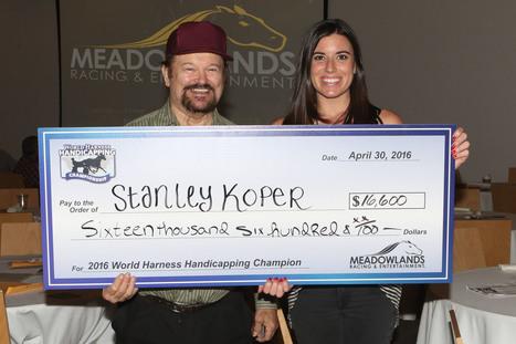 Stanley Koper Captures The 2016 World Harness Handicapping Championship - Horse Racing News | Paulick Report | Racing Business | Scoop.it