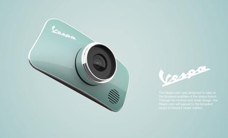 Concept Design: Vespa Cam | Scooters and Vespas | Scoop.it