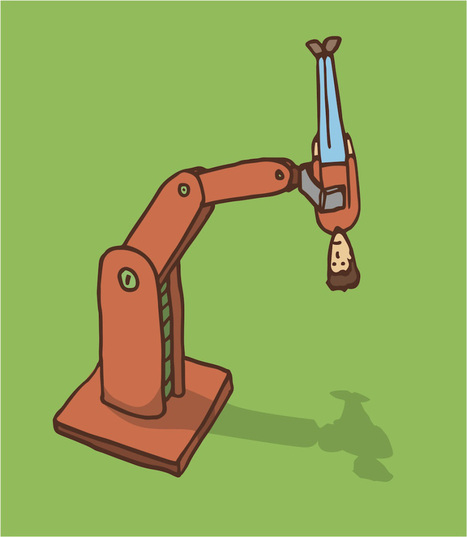 Les robots sont l'avenir mais pas celui de votre emploi | AFEST - Prospective | Scoop.it