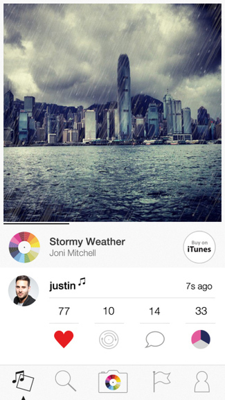 New Tunepics Social Network Is Like Instagram With A Soundtrack | TechCrunch | I work on the Interwebs | Scoop.it