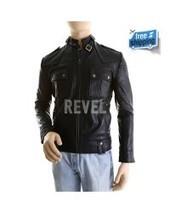 Men's Sleek Black Leather Biker Jacket - Diesel | Leather Jacket Stylish | Scoop.it