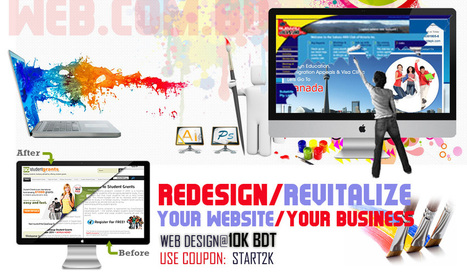 Website redesign by WebComBD starts from 10,000 BDT only | Web Design Company In Bangladesh | Scoop.it