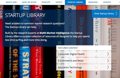 A Curated Library of Resources for Startups: The Startup Library | Mellon Library Links | Scoop.it