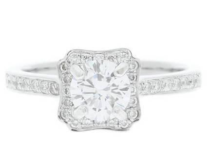 VR1057 1.05 Carat Halo Diamond Ring | Bespoke Diamonds | Engagement Rings Dublin | Scoop.it
