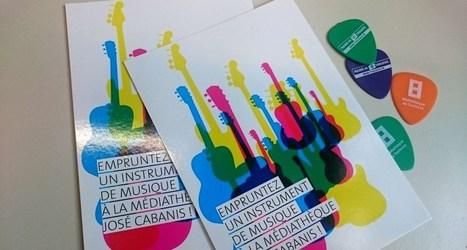 Prêter des instruments de musique en bibliothèque | Infocom | Scoop.it