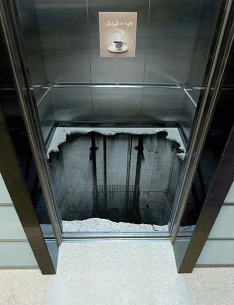 TOP 10 des opérations marketing les plus créatives sur des ascenseurs | streetmarketing | Scoop.it