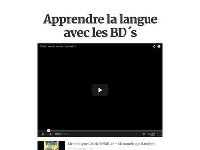 Apprendre la langue avec les BD´s | anchor charts in the world language classroom | Scoop.it