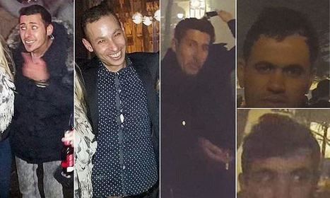 Cologne New Year 'attackers' - photographed by their alleged victims   The Pulp Ark Gazette   Scoop.it