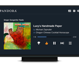 Pandora expands in the living room with HTML5 app for smart TVs and consoles - The Verge | Digital Technology | Scoop.it
