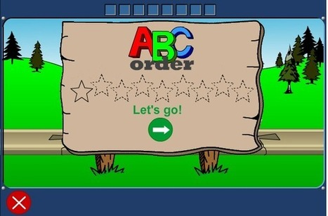ABC Order | Early Learners Online Literacy Activities | Scoop.it