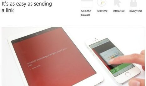 Swipe. Rendez vos présentations interactives – Les Outils Tice | TICE | Scoop.it