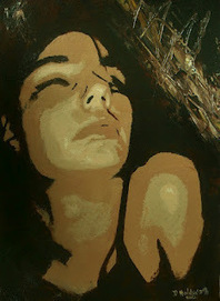 """Donna Holdsworth Contemporary Art: """"Psych 1"""" Abstract Figurative ... 