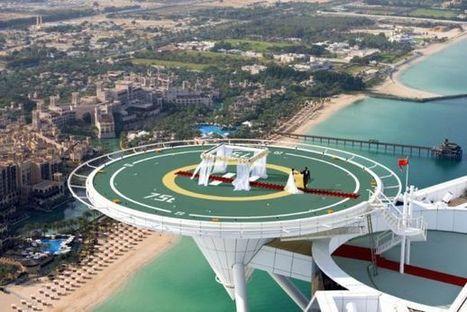 Resto / Le Burj Al Arab dévoile son service de mariage à 212 mètres d'altitude   Food & chefs   Scoop.it