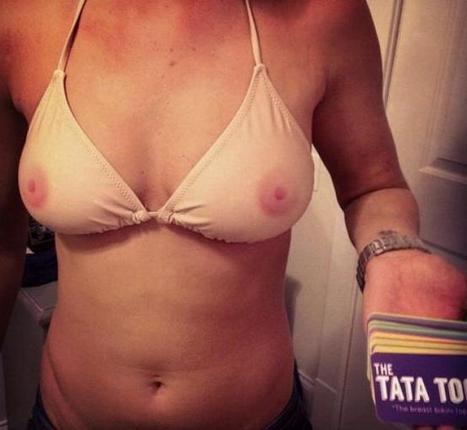 """Mode : le maillot de bain effet """"seins nus"""" fait fureur   Advertising trends   Scoop.it"""