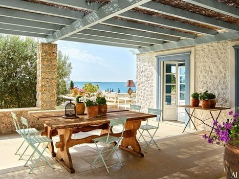 A Compound of Villas in the Greek Islands Is Transformed for a Family   Architectural Digest   Greek island lifestyle   Scoop.it
