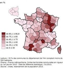 En 2013, la France comptait 65,5 millions d'habitants | Démographie-société | Scoop.it