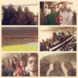 #WorldCup2014 #GALOrepresentra by mendesmarcela13 | Postcards from FIFA World Cup Brazil 2014 | Scoop.it