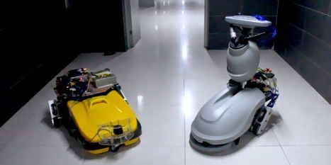 33rd Square | Avidbots Look To Take Over the Mundane Job of Cleaning the Mall At Night | leapmind | Scoop.it
