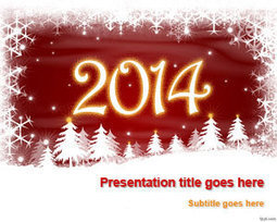 New Year 2014 PowerPoint Template   Free Powerpoint Templates   PowerPoint presentations and PPT templates   Scoop.it