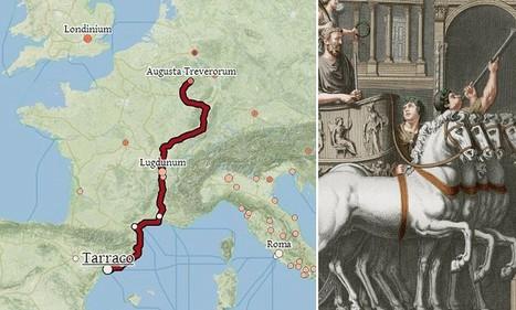 Interactive tool lets you explore the Roman Empire's roads an | Mundo Clásico | Scoop.it