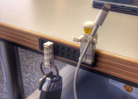 LEGO Figures Make Perfect Cable Holders   Inspiring - Amusing   Scoop.it