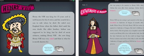 The 6 Wives of Henry VIII   iPad Lessons   Scoop.it