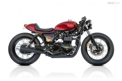 Top 5 Triumph Bonneville customs | Bunch of Metal Shib | Scoop.it