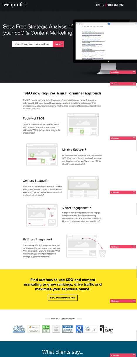 16 of the Best Landing Page Design Examples You Need to See | Nonprofit website design | Scoop.it