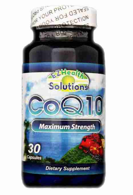 EZ coenzyme q10 Capsules - Coq10 blood pressure - Coq10 supplement | Coenzyme Supplements | Scoop.it
