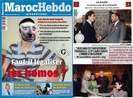 Le Maroc : la prochaine victime des LGBT et de la franc-maçonnerie ? #maroc #pedos   Toute l'actus   Scoop.it