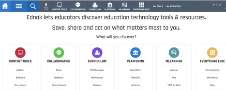 Ednak - Intersection of Education & Tech | Terrific Teacher Tidbits | Scoop.it