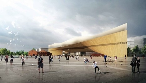 Six Proposals to Progress in Helsinki Central Library Architectural Competition | The Architecture of the City | Scoop.it