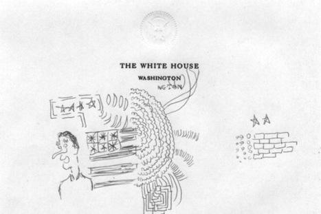 Hacker Reveals Bill Clinton's Presidential Doodles   In the Air: Art News & Gossip   ARTINFO.com   Visual Heuristics   Scoop.it