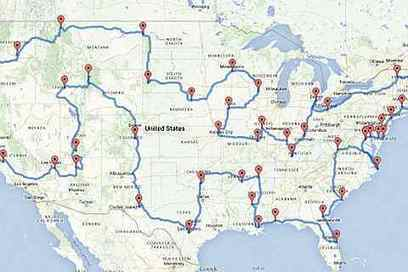Data geniuses have figured out what the ultimate U.S. road trip looks like | Tourism Social Media | Scoop.it