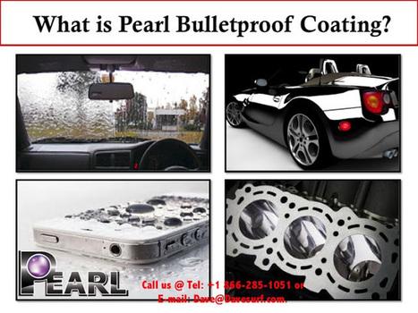 New Pearl Coatings: Repair, Improve & Prolong your Car's Surface Life with Pearl BulletProof | Waterless Car Wash | Scoop.it